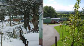 Winter and Summer at White Gate